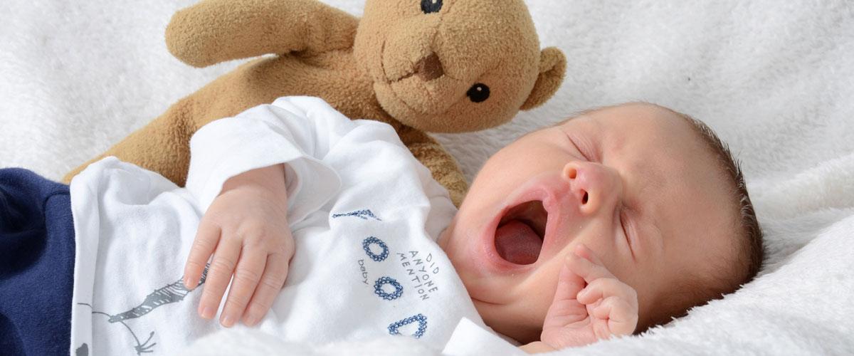 Il sonno del bambino e il gioco, due incontri informativi per neogenitori